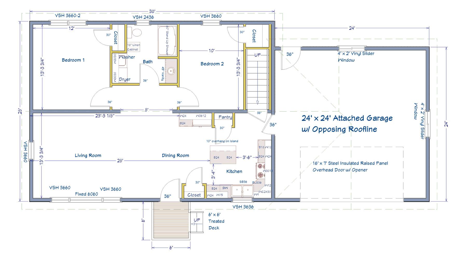 Modular Homes Floorplan